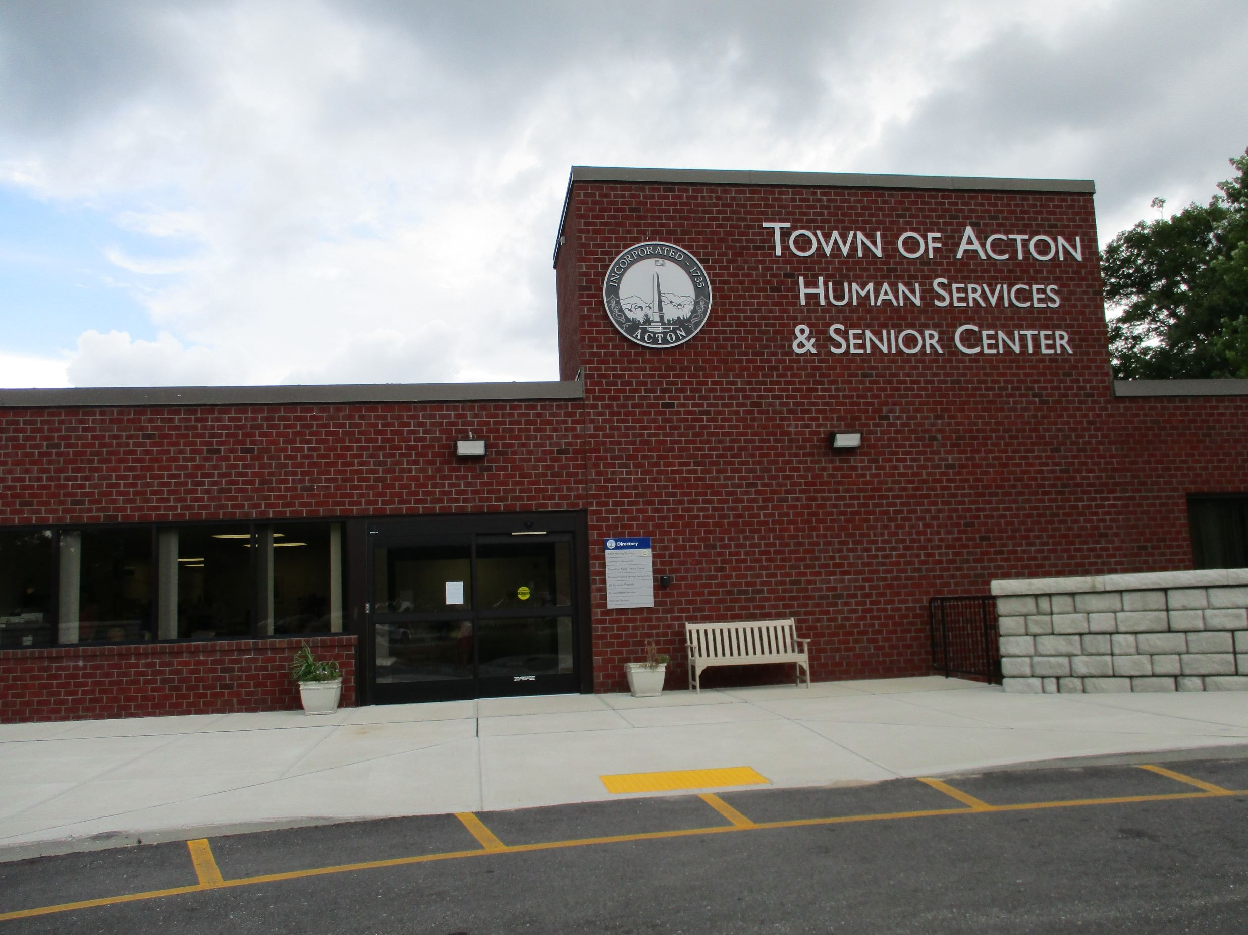 The Human Services and Senior Center Building